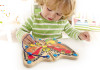 Colour Flutter Butterfly Magnetic Maze