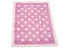Pink Dotty Rug