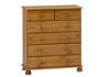 Richmond Pine Chest 2+ 4 Drawers