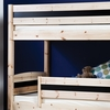 Oscar Pine Double Railed Bunk Bed