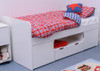 Treehouse Furniture Charterhouse White Cabin Bed