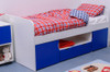 Treehouse Furniture Charterhouse Blue Cabin Bed + Free Duvet Set