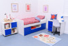 Treehouse Furniture Charterhouse Blue Cabin Bed