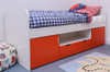 Treehouse Furniture Charterhouse Red Cabin Bed + Free Duvet Set