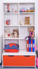 Treehouse Furniture Charterhouse Red Double Shelf Storage Unit