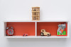 Treehouse Furniture Charterhouse Red Bookshelf