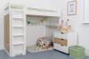 Treehouse Furniture Charterhouse Oak High Sleeper + Free Duvet Set