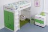 Treehouse Furniture Charterhouse Green High Sleeper + Free Duvet Set