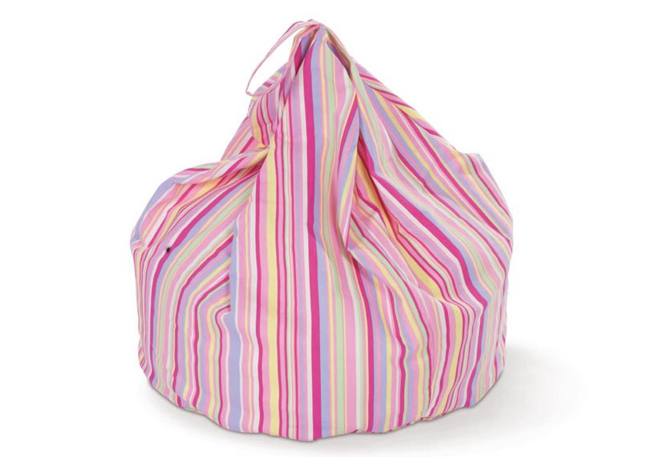 62f35cee8190 Candy Stripe Bean Bag - Kids Rooms