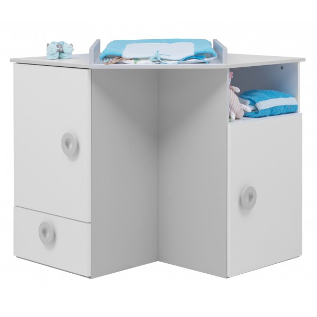 Commode A Langer Angle twinkle corner changing board