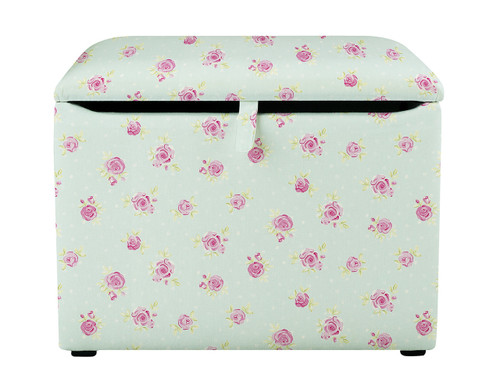 Country Flowers Toy Box