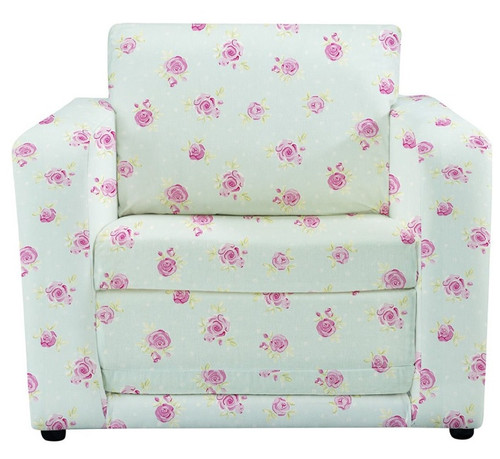 Country Flowers Chair Bed