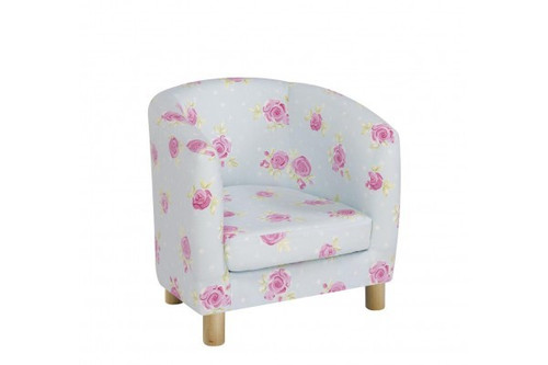 Country Flowers Tub Chair