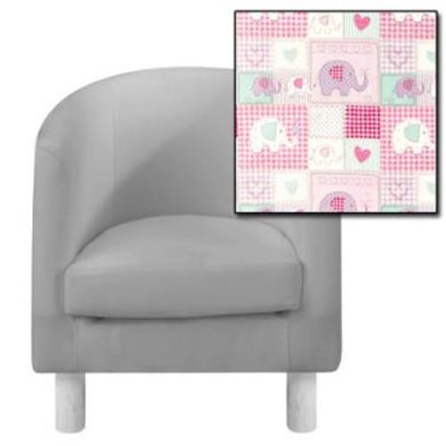 Patchwork Elephant Tub Chair