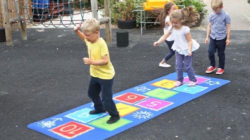 Hopscotch Outdoor Play Mat