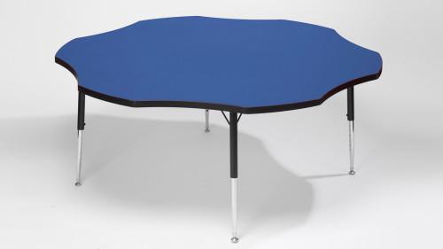 Tuf Top Height Adjustable Flower Table Blue