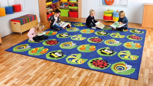 Back to Nature Square Bug Placement Carpet