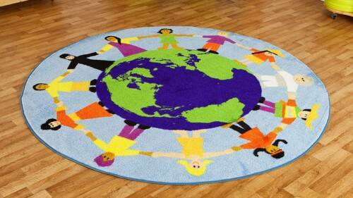 Children of the World Multi-Cultural Carpet