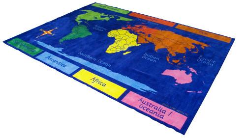 Primary World Explorer Carpet