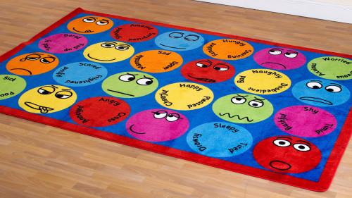 Emotions Interactive Rectangular Placement Carpet