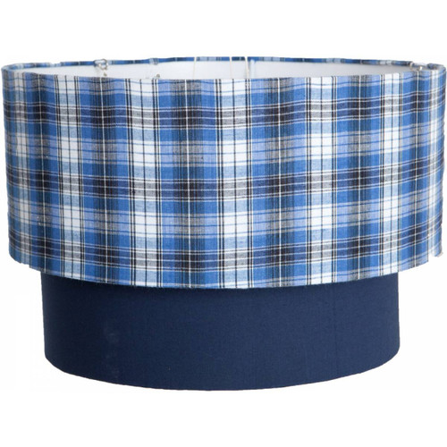 Lampshade - Check (2 Tier)