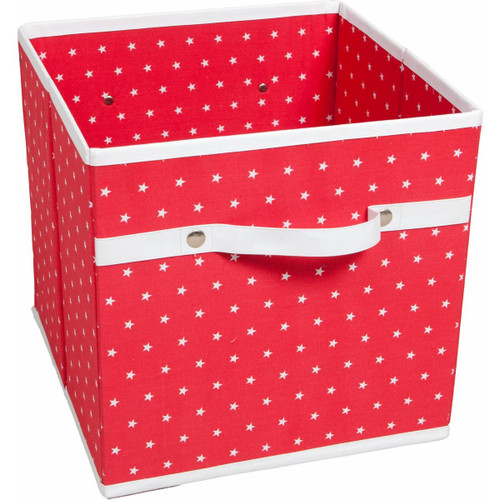 Storage Box - Red Star
