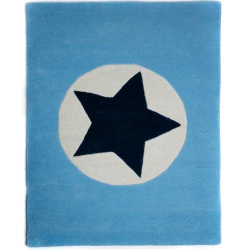NEW Star Large Rug - Blue