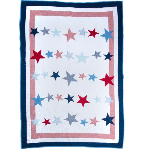 Big Star Cot Bed Quilt
