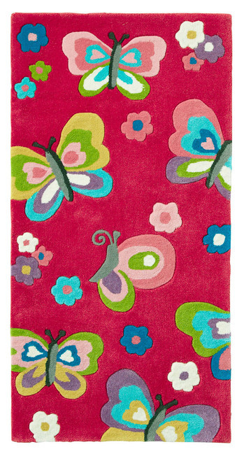 The Butterfly Children's Bedroom Rug