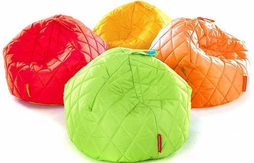 Quilted Outdoor Beanbags - Pack of 4
