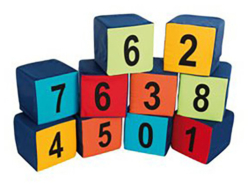 Numbered Seating Cubes - Pack of 10