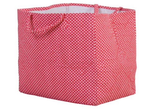 Red Polkadot Storage Bag