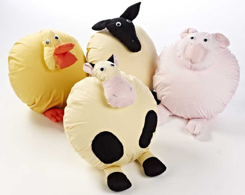 Farmyard Cushions - Set of 4