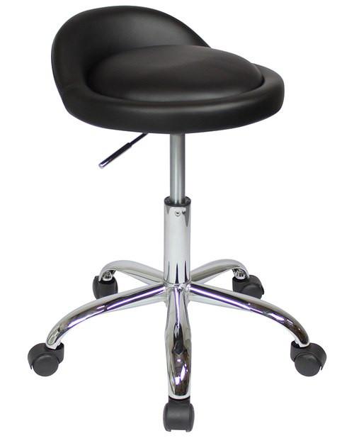 Sofia Chair With Wheels Black