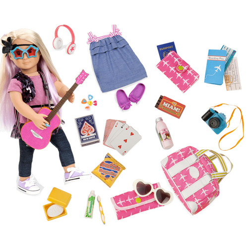 Layla with Bon Voyage Travel Set
