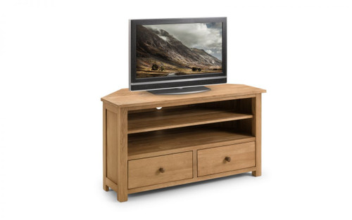 Coxmoor Oak Corner Tv Unit