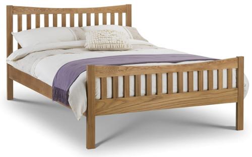 Bergamo Oak Bed 150cm