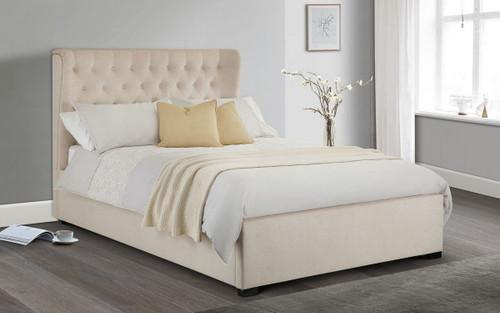 Geneva Winged Headboard Bed 135cm