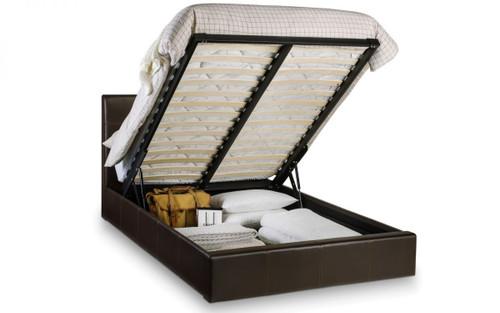 Phoenix Storage Bed Brown 135cm