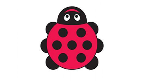 Back to Nature™ Ladybird Shaped Outdoor Mat