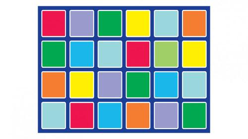 Rainbow™ Rectangle Placement Mat
