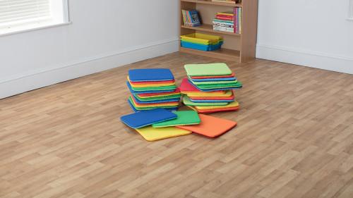 Rainbow™ Square Cushions - Set of 32