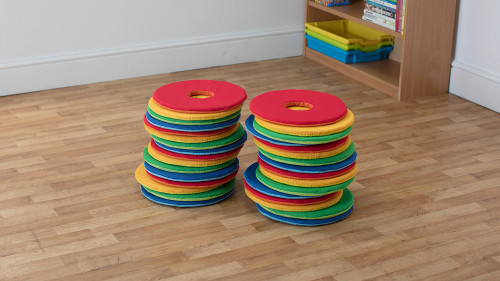 Rainbow™ Circular Cushions - Set of 32