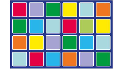 Rainbow™ Rectangle Placement Carpet