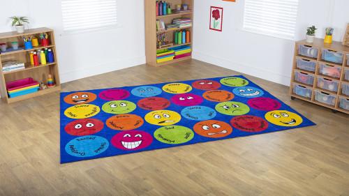 Emotions™ Interactive Rectangular Carpet