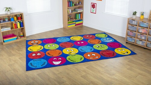 Emotions™ Interactive Rectangular Carpet