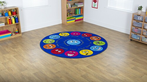 Emotions™ Interactive Circular Carpet