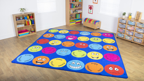 Emotions™ Interactive Square Carpet