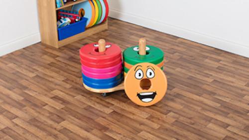 English Emotions™ Donut™ Cushion Trolley - 12 Cushions