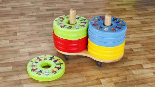 Children of the World™ Donut™ Cushions & Trolley - Set of 12